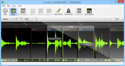 BeatCleaver for Mac OS X full screenshot